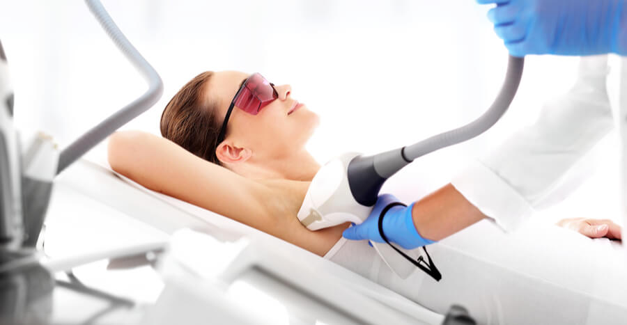 , Laser Hair Removal Apprentice In Training