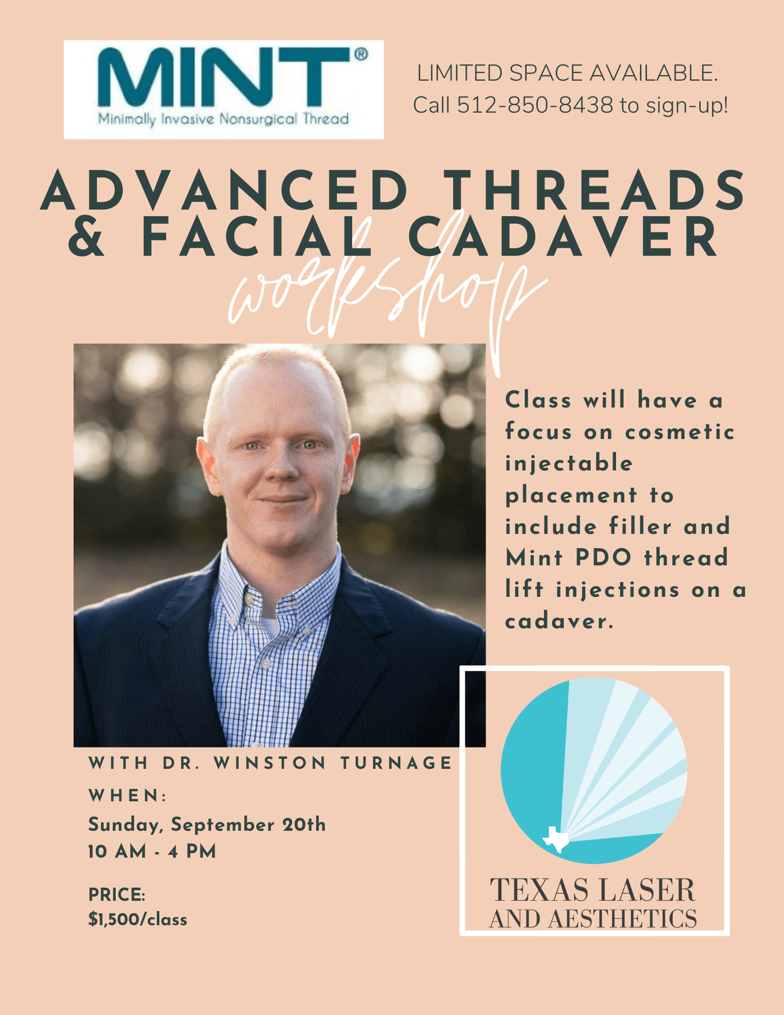, Advanced Threads and Cadaver Workshop